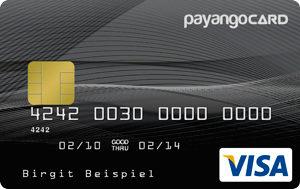 Payango Prepaid VISA Kreditkarte