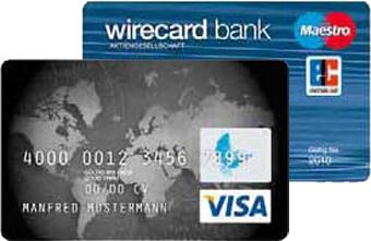 Wirecard Bank Prepaid Kreditkarte